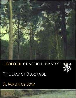 The Law of Blockade