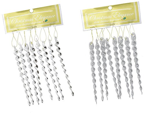 Long Icicle Ornaments - 1