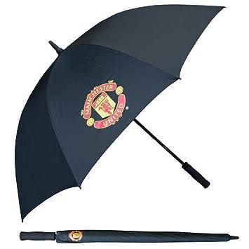 Manchester United FC oficial de fútbol regalo paraguas de Golf Single Canopy – una gran Navidad