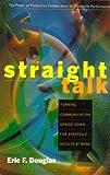 Straight Talk, Eric Douglas, 0891061177