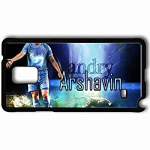 Personalized Samsung Note 4 Cell phone Case/Cover Skin Arshavin Football Black
