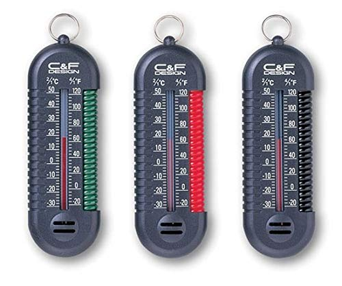 C&F Design CFA-100/BK 3-in-1 Thermometer/Black ()