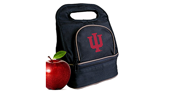 2 Sections! Broad Bay Indiana University Lunch Bag IU Lunch Box