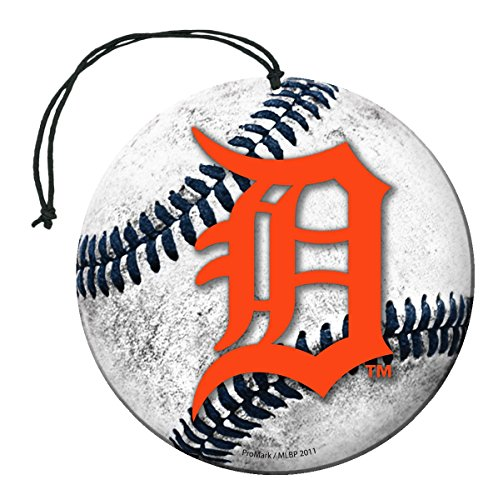(MLB Detroit Tigers Auto Air Freshener, 3-Pack)