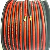 200' feet TRUE 10 Gauge AWG CCA Speaker Wire Red/Black Car Home Audio