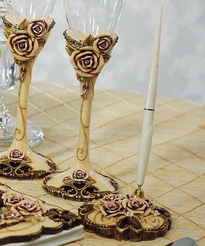 Weddingstar Pen Holder Vintage Rose product image
