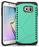 Cocomii Paladin Armor Galaxy S6 Edge+ Plus Case NEW [Heavy Duty] Premium Tactical Grip Slim Fit Shockproof Bumper [Military Defender] Full Body Rugged Cover for Samsung Galaxy S6 Edge+ Plus (P.Green)