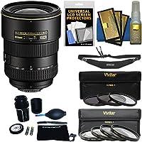 Nikon 17-55mm f/2.8 G DX AF-S ED-IF Zoom-Nikkor Lens with 3 UV/CPL/ND8 & 4 Macro Filter Set + Sling Strap Kit for D3200, D3300, D5300, D5500, D7100, D7200 Camera