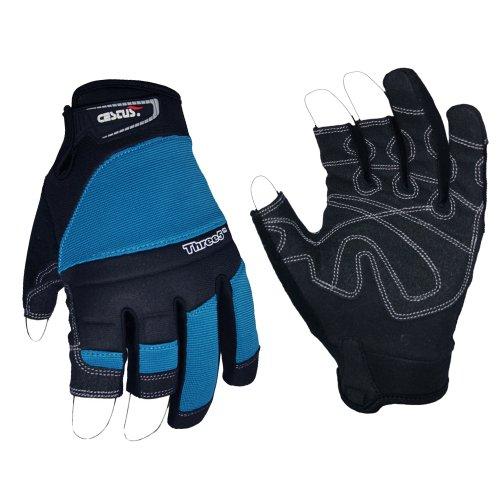 - Cestus Trade Series Three5 Framing Glove, Work, Cut Resistant, Large, Blue (Pack of 1 Pair)