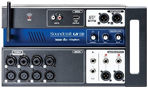 JBL Soundcraft Ui12 Remote-Controlled 12-Input Digital Mixer
