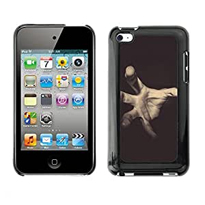 Hot Style Cell Phone PC Hard Case Cover // M00103112 gray photos horror // Apple ipod Touch 4 4G 4th