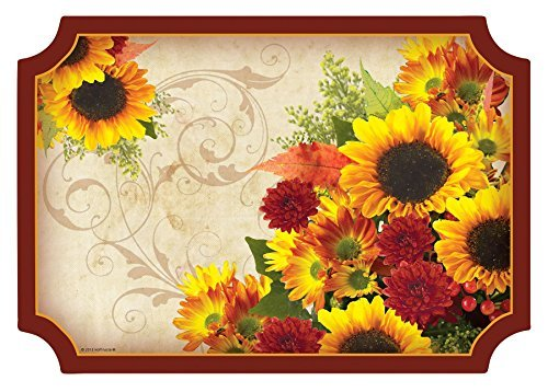 (Autumn Floral Inspiration Placemats 50 Per Pack)