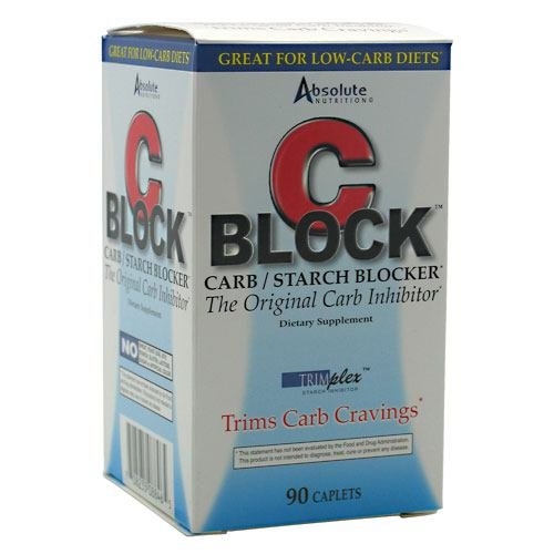 Absolute Nutrition C Block Carbo Inhibitor 90 Ct by Absolute Nutrition (Image #1)