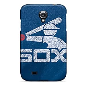 Protective Hard Phone Cover For Samsung Galaxy S4 With Unique Design High-definition Chicago White Sox Image AlissaDubois