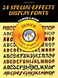 24 Special-Effects Display Fonts, Dover Staff, 0486999696