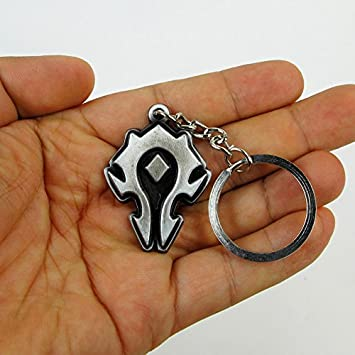 WOW Horda Logo colgante llavero llavero World of Warcraft ...