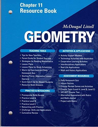 McDougal Littell - Geometry - Chapter 11 Resource Book