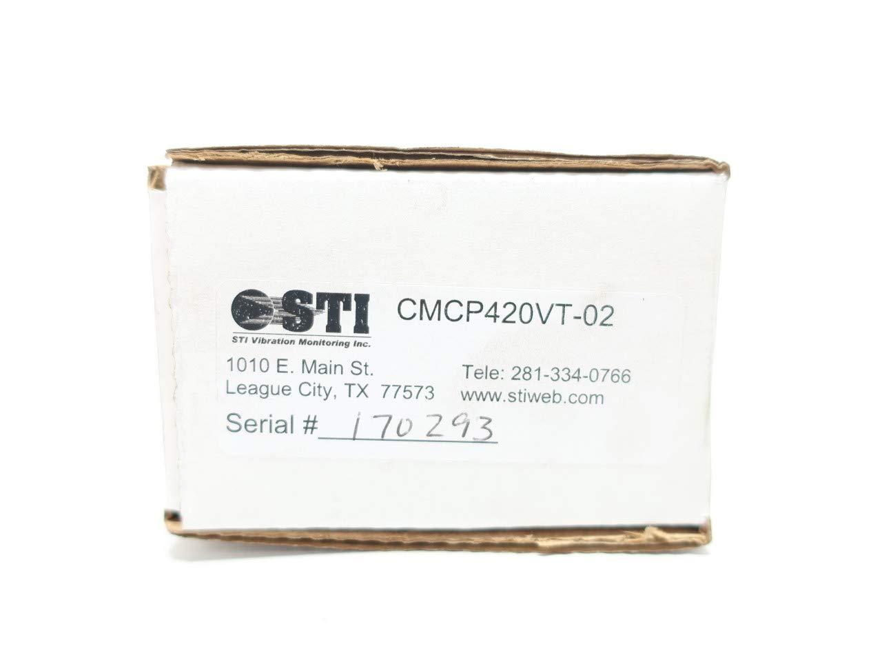 STI CMCP420VT-02 Loop Powered Velocity Transmitter Vibration Sensor 24V-DC