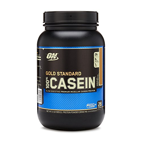OPTIMUM NUTRITION GOLD STANDARD 100% Micellar Casein Protein Powder, Slow Digesting, Helps Keep You Full, Overnight Muscle Recovery, Chocolate Peanut Butter, 2 Pound