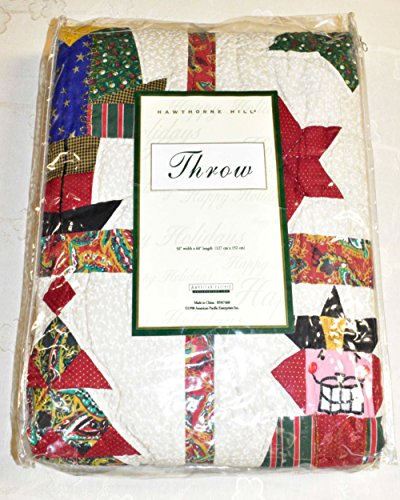 Christmas Quilt - Nutcracker Throw Quilt or Wall Hanging 50