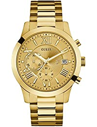 Gold-Tone Stainless Steel Chronograph Bracelet Watch with Date. Color: Gold-Tone (Model: U0668G4)