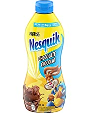 Nesquik Less Sugar Chocolate Syrup, 510ml Bottle