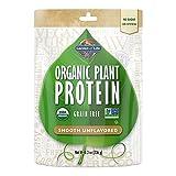 Garden of Life Organic Protein Powder - Vegan Plant-Based Protein Powder, Sugar Free