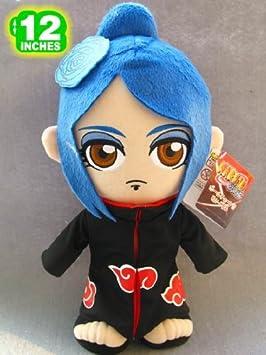 Amazon.com: Anime Naruto Konan Akatsuki Plush Doll 12 Inches: Toys & Games