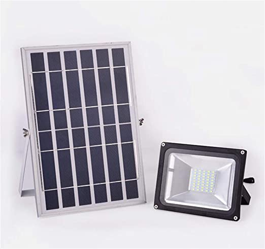 Solar Foco Proyector LED, hogar impermeable al aire libre 20W 30W ...
