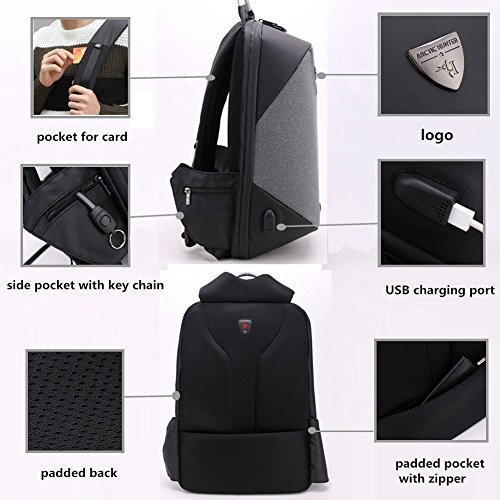 for Backpack Lightweight theft black version 15 Anti Computer Leisure Digital Storage Notebook Mens Business 6 with Backpack Board Laptop Laptop Backpacks storage XpA56qwx