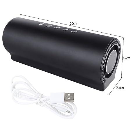 DUHOULI Altavoz inalámbrico Bluetooth Shocking Bass Sound caixa de som Altavoces de Columna Multimedia Soporte TF AUX Line en Manos Libres: Amazon.es: ...
