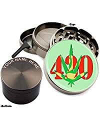 Acquisition 420 Design Large Size Zinc Grinder With Your Name FREE - Gift Pack Item # 111315-161 online