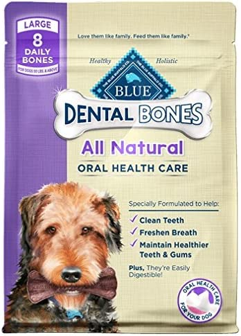 Blue Buffalo Bones Dog Treats – 24 oz 2 – 12-oz bags