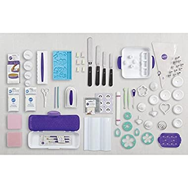 Wilton 216-Piece Ultimate Cake Decorating Set with Tote, 2109-9036