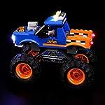 BRIKSMAX-Kit-di-Illuminazione-a-LED-per-Lego-City-Monster-Truck-Compatibile-con-Il-Modello-Lego-60180-Mattoncini-da-Costruzioni-Non-Include-Il-Set-Lego