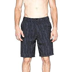 Blue Gear Mens Lightweight Stretch Hybrid Shorts (Black,30)