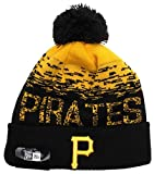 New Era MLB Sport Knit Pittsburgh Pirates Bobble Beanie Hat