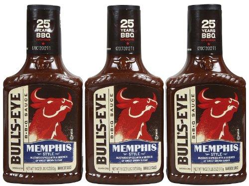 Bull's-Eye, BBQ Sauces, 18oz Bottle