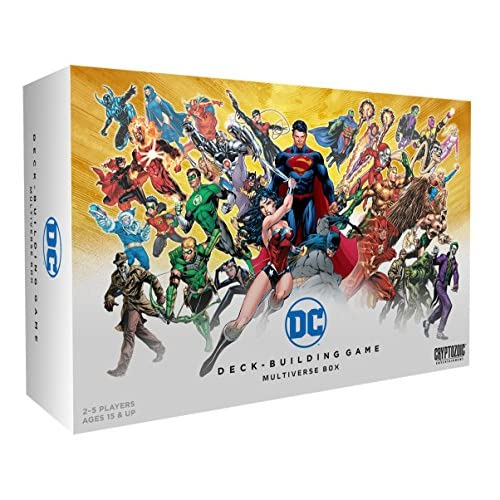 Cryptozoic Entertainment Cry02277DC Comics Deck-building Multiverse Boîte Jeu de société