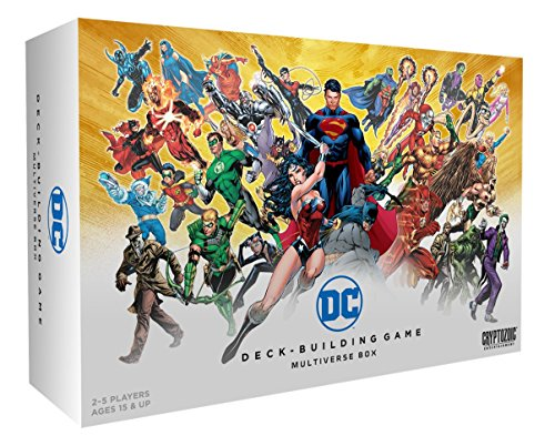 Cryptozoic Entertainment DC Comics Dbg Multiverse Box Board-Games