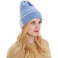 ANBOO Knitted Hat, Women Men Autumn Winter Beanie Hat Knitting Wool Warm Hats Earmuffs Hat Thick Winter Beanie Hat