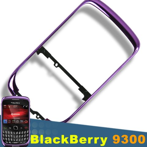 Original Genuine Purple Bezel for Blackberry 9300 OEM Faceplate 9330 - Purple Blackberry Faceplates