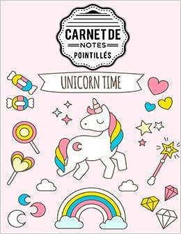Carnet de notes pointillés A4 Licorne Dot point, bullet ...