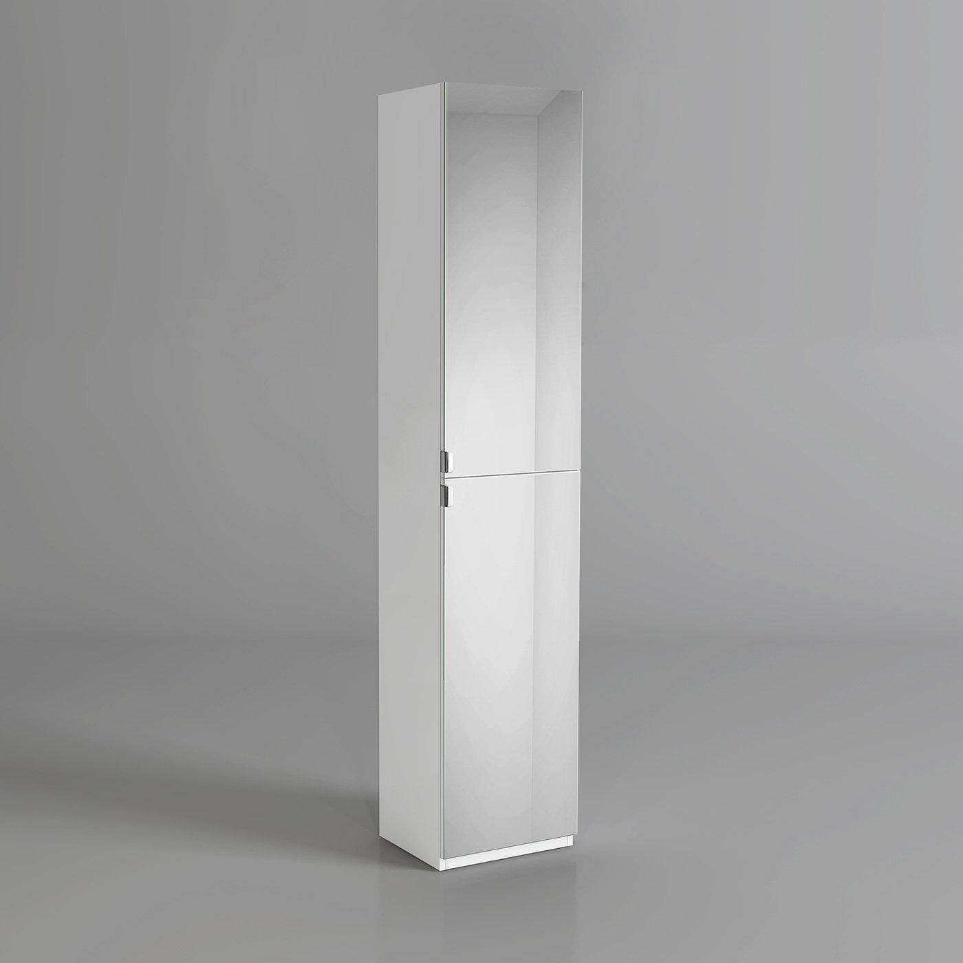 1700mm tall bathroom mirror cabinet reversible cupboard floor storage furniture ibathuk amazon co uk kitchen home