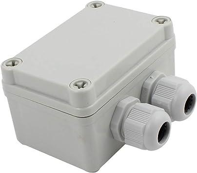 Uotyle - Caja de conexiones eléctrica + conector PG16 a prueba de ...