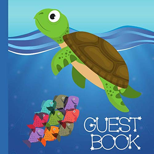 Turtle Baby Shower (Guest Book: Turtle  Baby Shower Guestbook Includes Gift Tracker and Memory Picture Section to Create a Lasting Keepsake to Remember)