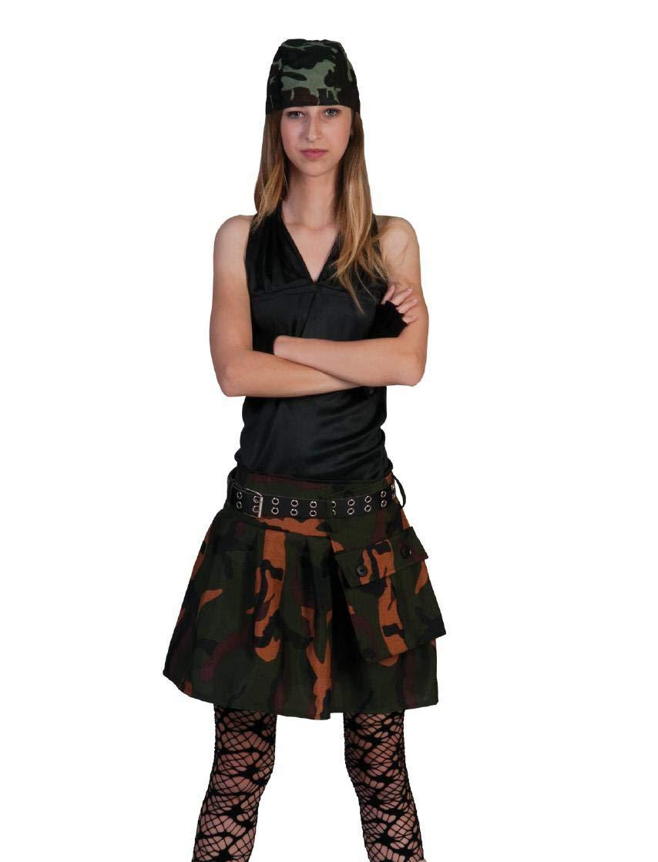 Fiesta Palace - Falda Camuflaje para Mujer, Talla XS: Amazon.es ...