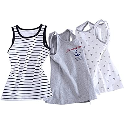 Tank Top for Baby Boys 3 Piece Pack Muscle T-shirt