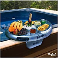Perfect Pools Spa Bar Inflatable Hot Tub Tray for Drinks and Snacks