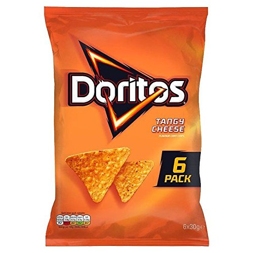 (Doritos Tangy Cheese 30g x - 6 per pack )